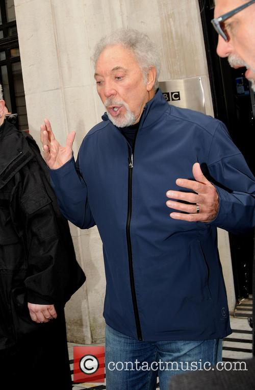Sir Tom Jones at BBC Radio 2