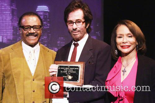 Ted Lange, George Chakiris and Freda Payne