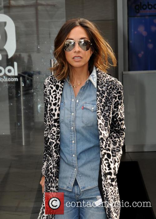 Myleene Klass at Global House