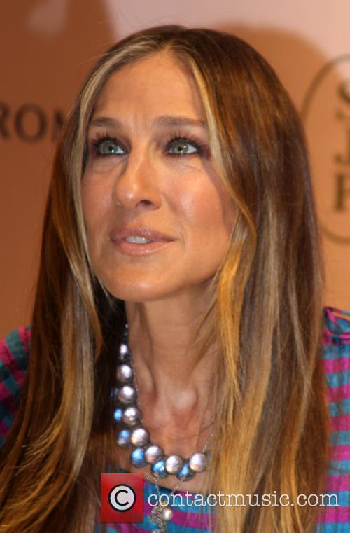 Sara Jessica Parker promotes her clothing and accesory...