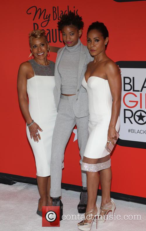 Adrienne Banfield-jones, Willo Smith and Jada Pinkett 3
