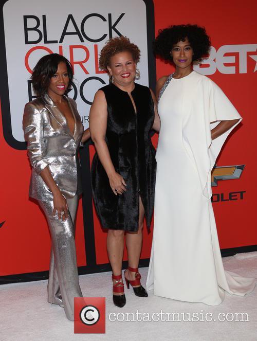 Regina King, Debra Lee and Tracee Ellis Ross 2