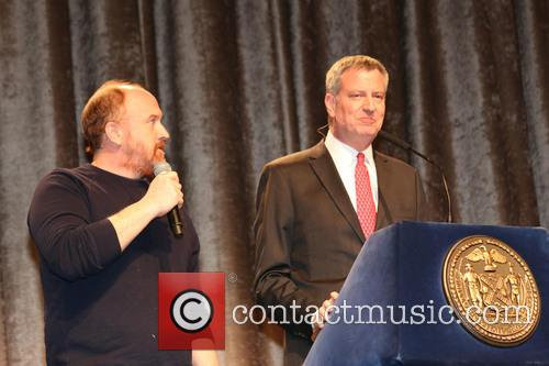Louis C.k and Bill De Blasio 1
