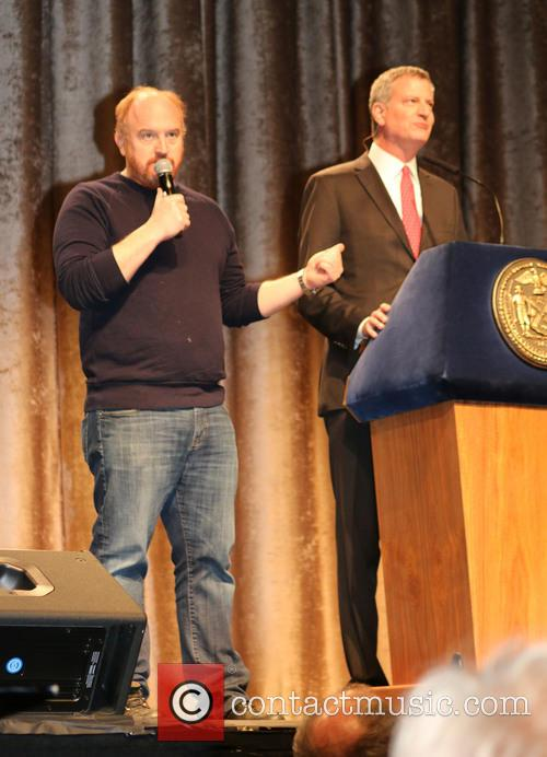 Louis C.k and Bill De Blasio 2
