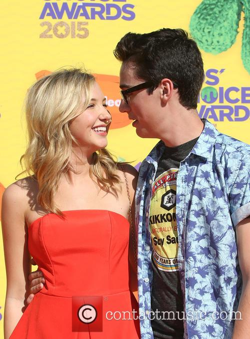 Audrey Whitby and Joey Bragg 7