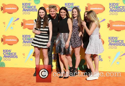 Gordon Ramsay and family