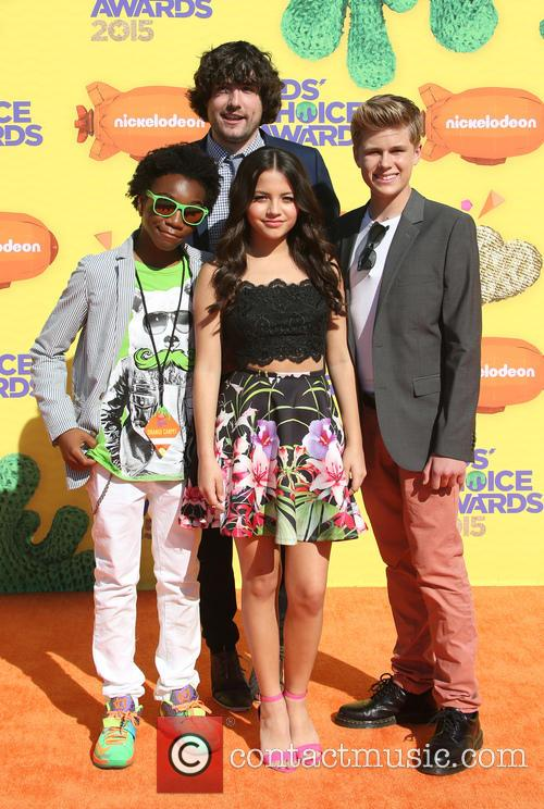 Jack De Sena, Jaheem Toombs, Isabela Moner and Owen Joyne 1