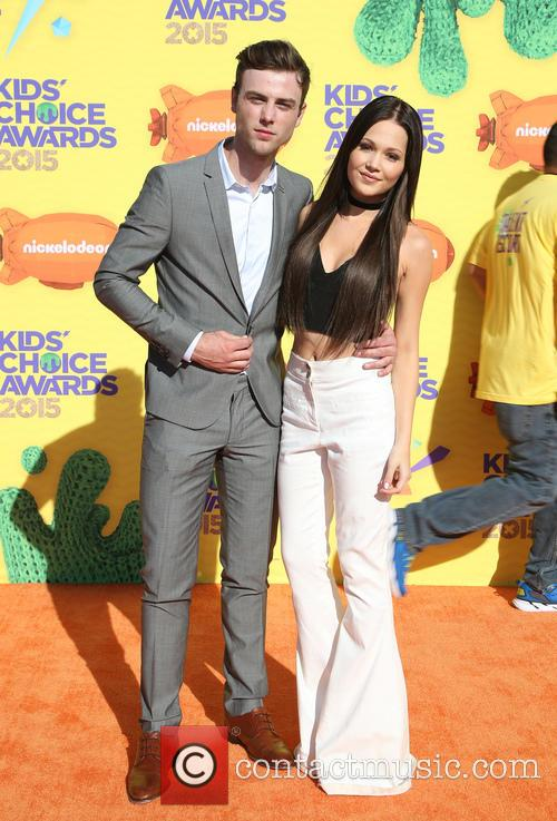 Kelli Berglund and Sterling Beaumon