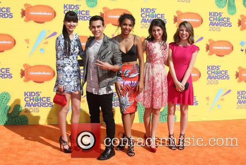 Elizabeth Elias, Tyler Alvarez, Denisea Wilson, Zoey Burger and Autumn Wendel 2
