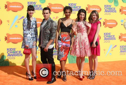 Elizabeth Elias, Tyler Alvarez, Denisea Wilson, Zoey Burger and Autumn Wendel 1