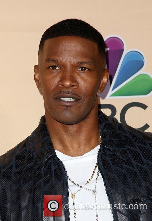 Jamie Foxx at iHeartRadio Music Awards