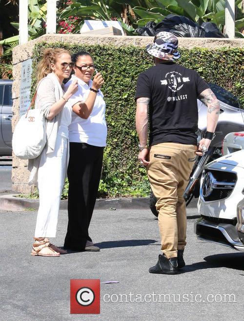 Jennifer Lopez and Casper Smart 11