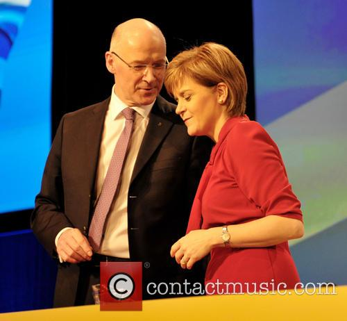 John Swinney and Nicola Sturgeon 3