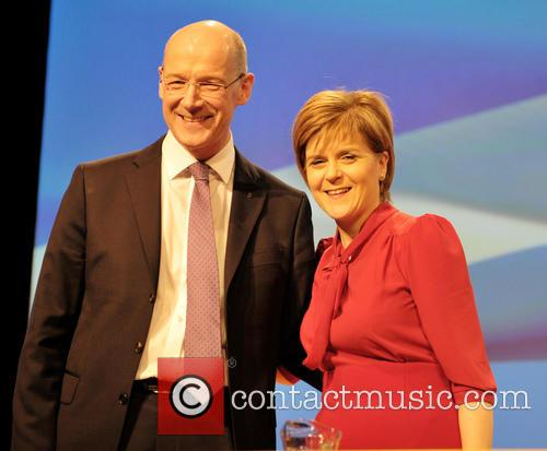 John Swinney and Nicola Sturgeon 5