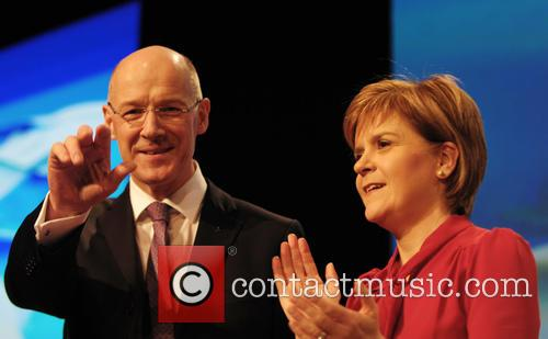 John Swinney and Nicola Sturgeon 8