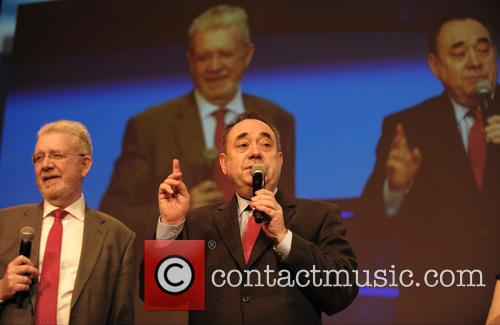Michael Russell and Alex Salmond 2