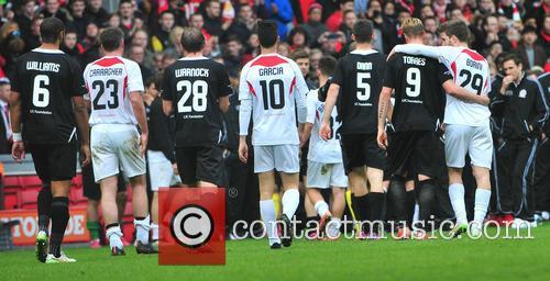 Steven Gerrard, Jamie Carragher, Steven Warnock, Luis Garcia, Scott Dann, Fernando Torres and Fabio Borini 4