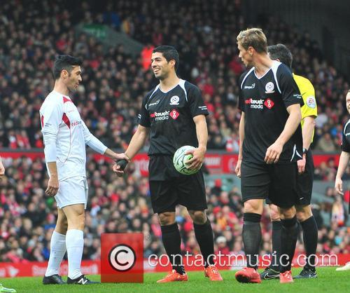 Steven Gerrard charity match Liverpool