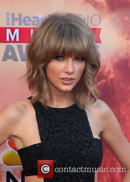 Taylor Swift at the annual iHeart Radio Music Awards at the Shrine Auditorium and Expo Hall, Los Angeles