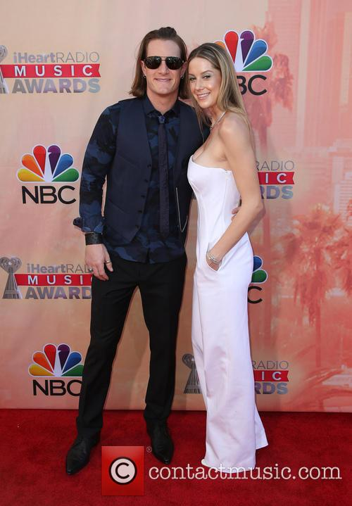 Tyler Hubbard, Hayley Stommel and Florida Georgia Line 2