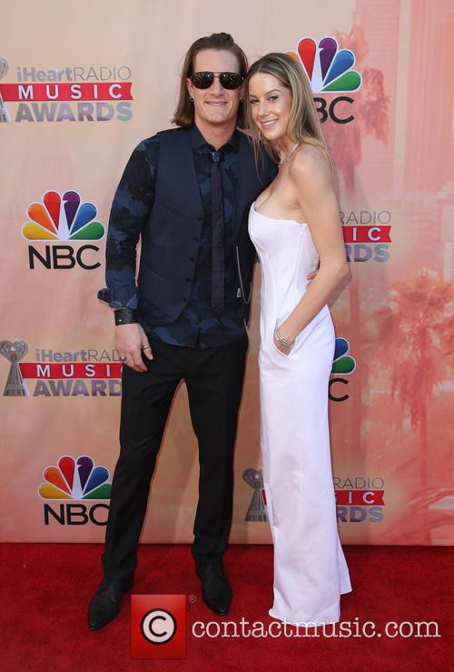 Tyler Hubbard, Hayley Stommel and Florida Georgia Line 3