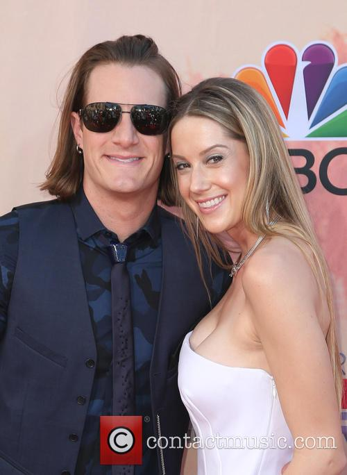 Tyler Hubbard, Hayley Stommel and Florida Georgia Line 4