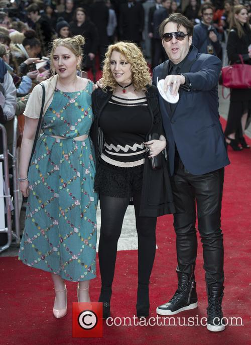 Honey Kinney Ross, Jane Goldman and Jonathan Ross 2
