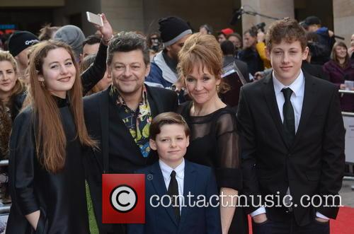 Andy Serkis, Lorraine Ashbourne, Sonny Serkis, Ruby Serkis and Louis George Serkis 4