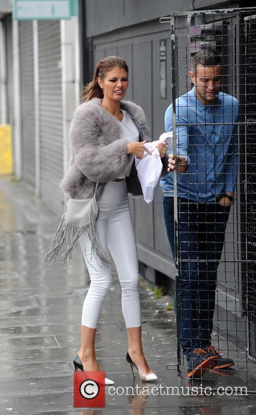 Chloe Sims and Elliott Wright out in Essex