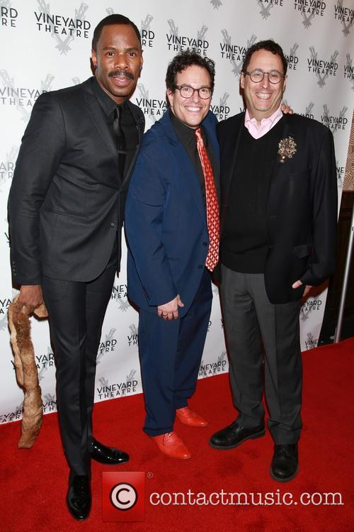 Colman Domingo, Michael Mayer and Tony Kushner 2