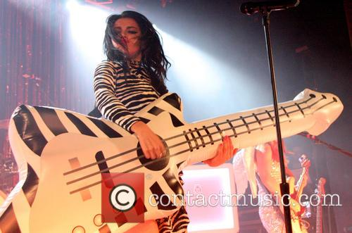 Charli XCX performs live at the Manchester Academy...