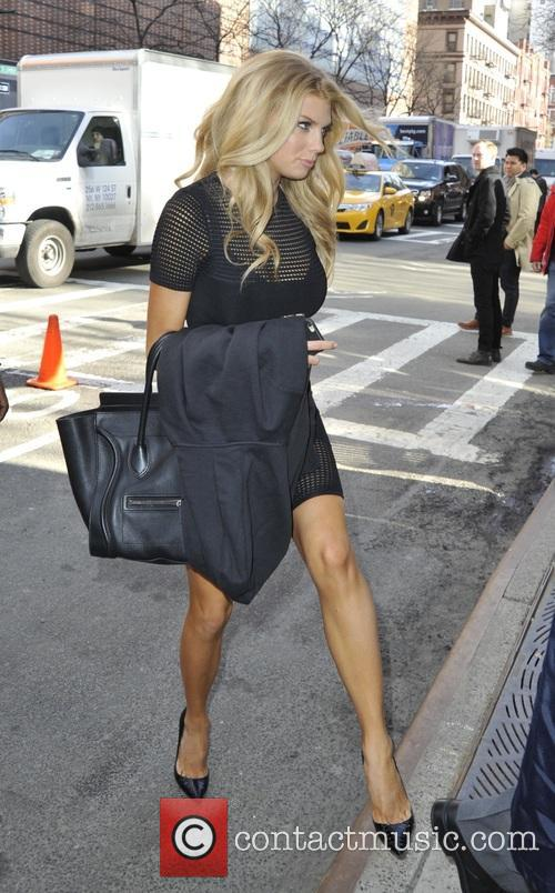 Charlotte McKinney on the View