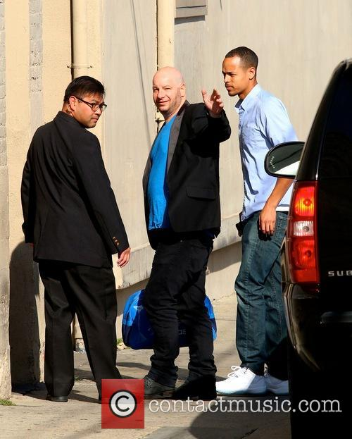 Jimmy Kimmel, Jeff Ross and Trevor Noah 9