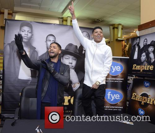 Jussie Smollett, Bryshere Gray and Yazz The Greatest 6