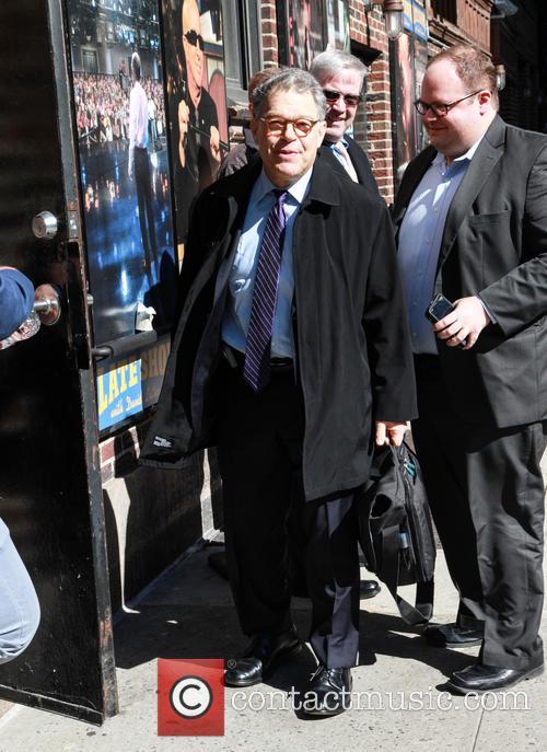 Al Franken and David Letterman 5