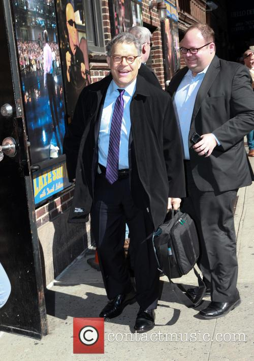 Celebrities arriving at the 'Late Show with David...