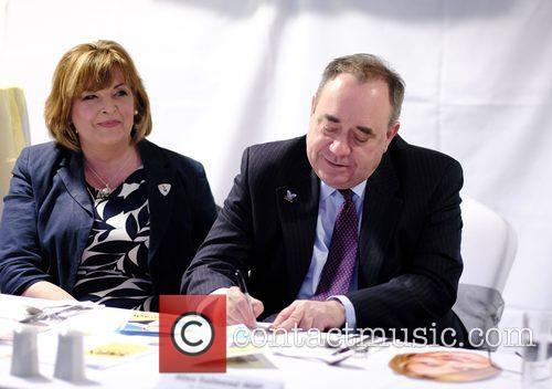 Fiona Hyslop and Alex Salmond 2