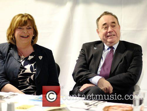 Fiona Hyslop and Alex Salmond 1