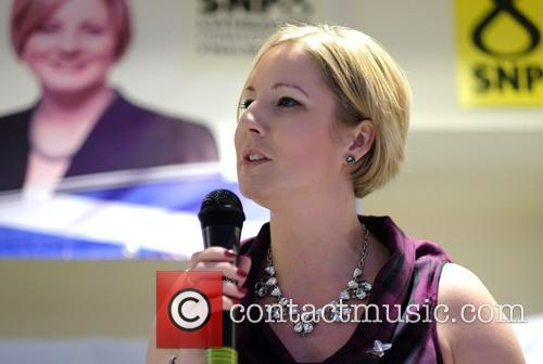 Aklex Salmond attends Hannah Bardell SNP Adoption Dinner
