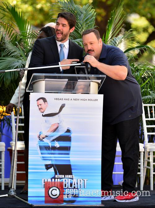 Eduardo Verastegui and Kevin James 2