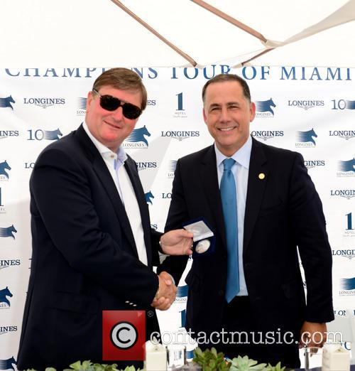 Jan Tops and Miami Beach Mayor Philip Levine 1