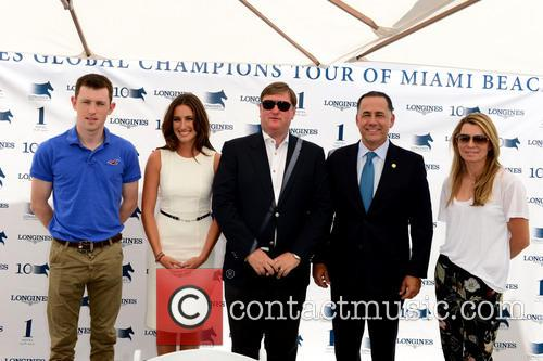 Springsteen, Scott Brash, Jan Tops, Miami Beach Mayor Philip Levine and Edwina Tops-alexander