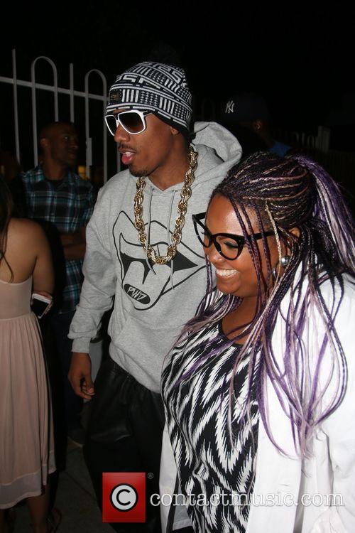 Nick Cannon and Echo Hattix 10