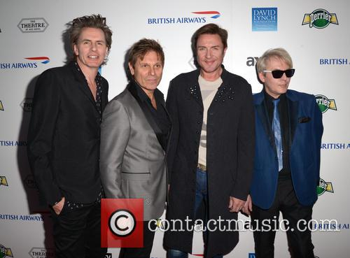 John Taylor, Roger Taylor, Simon Le Bon, Nick Rhodes and Duran Duran 4