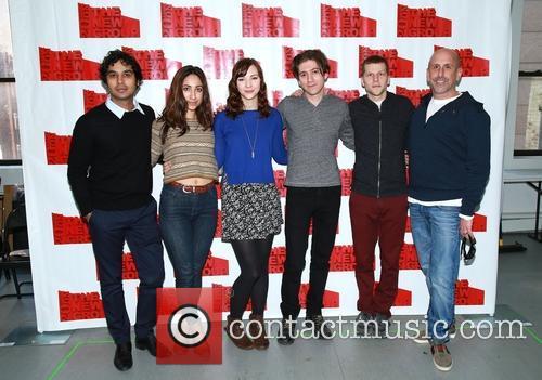 Kunal Nayyar, Annapurna Sriram, Erin Darke, Michael Zegen, Jesse Eisenberg and Scott Elliott
