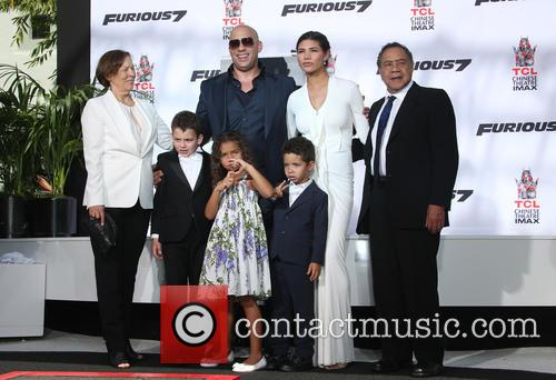 Delora Vincent, Vin Diesel, Vincent Sinclair, Hania Riley Sinclair, Pauline Sinclair and Irving Vincent 6