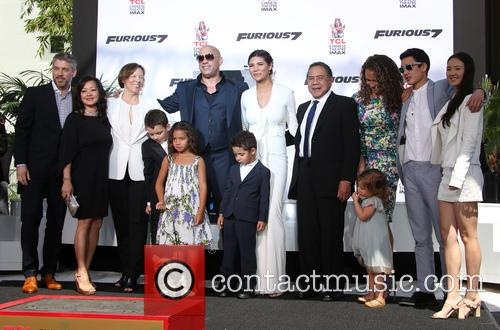 Delora Vincent, Vin Diesel, Vincent Sinclair, Hania Riley Sinclair, Pauline Sinclair, Irving Vincent and Samantha Vincent 7