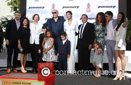 Delora Vincent, Vin Diesel, Vincent Sinclair, Hania Riley Sinclair, Pauline Sinclair, Irving Vincent and Samantha Vincent 8