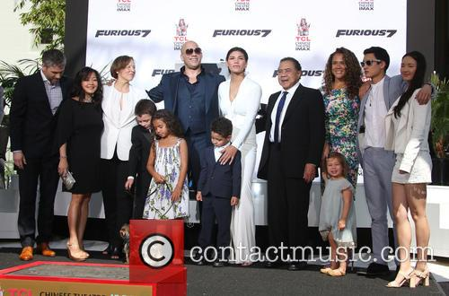Delora Vincent, Vin Diesel, Vincent Sinclair, Hania Riley Sinclair, Pauline Sinclair, Irving Vincent and Samantha Vincent 9