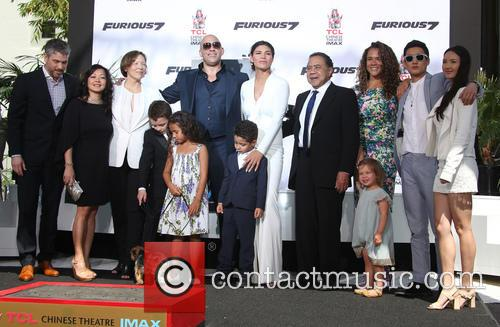 Delora Vincent, Vin Diesel, Vincent Sinclair, Hania Riley Sinclair, Pauline Sinclair, Irving Vincent and Samantha Vincent 10